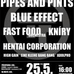 Třem-Fest 2013 - festival Třemošná (Plzeň) - PIPES AND PINTS, BLUE EFFECT, FAST FOOD ORCHESTRA, HENTAI CORPORATION, KNÍRY, HIGH GAIN, EINE KLEINE BANG BANG001